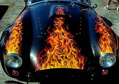 Photograph - Flamin' Hot Cobra by Bob Wall