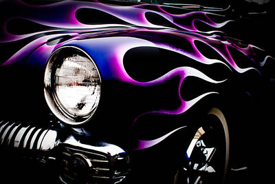 Photograph - Flaming Classic by Joann Copeland-Paul