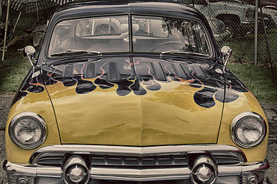 Photograph - Flaming Ford by Jack R Perry