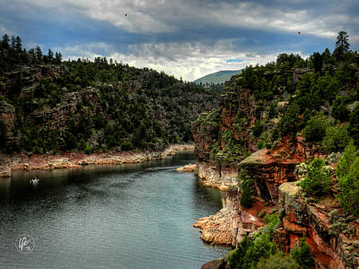 Photograph - Flaming Gorge - Cart Creek 002 by Lance Vaughn
