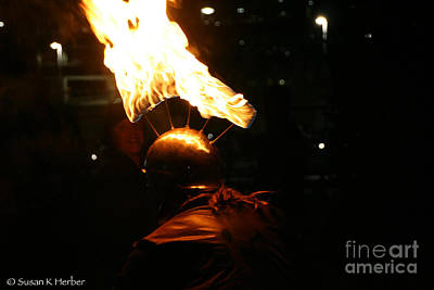 Photograph - Flaming Hot by Susan Herber