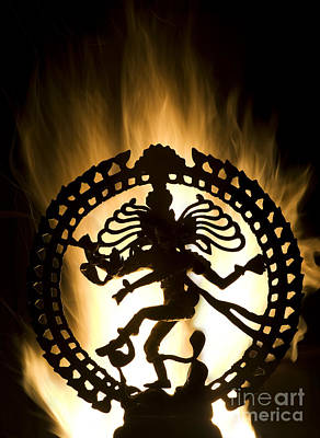Hinduism Photograph - Flaming Natarja by Tim Gainey