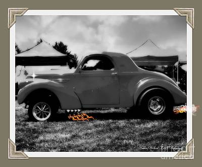 Photograph - Flaming Rod  by Bobbee Rickard