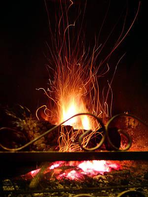 Photograph - Flaming Wizard by Alessandro Della Pietra