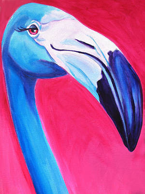 Dawgart Painting - Flamingo by Alicia VanNoy Call
