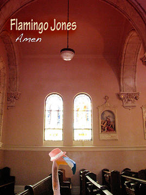 Photograph - Flamingo Jones - Amen by Kathleen Grace
