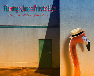 Photograph - Flamingo Jones Private Eye by Kathleen Grace