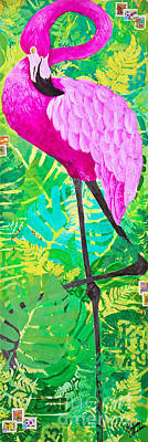 Painting - Flamingo by Melissa Sherbon