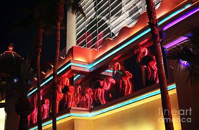 Photograph - Flamingos In Vegas by John Rizzuto