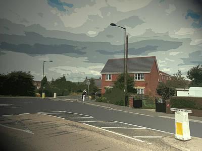 Flanderwell Lane,  Flanderwell Lane, Near To Bramley Art Print by Litz Collection