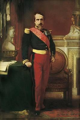 Flandrin, Jean-hippolyte 1809-1864 Art Print