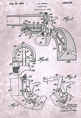 Flare Painting - Flare Gun - Patented On 1942 by Celestial Images