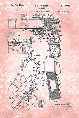 Flare Painting - Flare Signal Patent From 1931 by Celestial Images