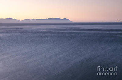 Flase Bay Sunset Art Print by Neil Overy