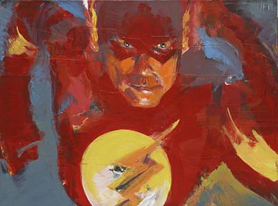 Painting - Flash by David Leblanc