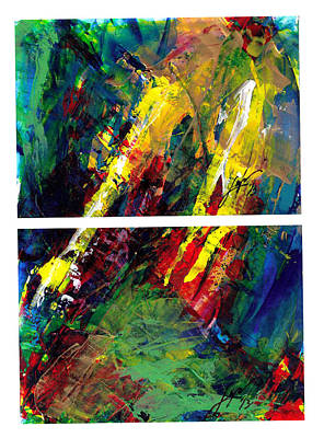 Painting - Flash Diptyk by Thomas Lupari