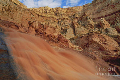 Photograph - Flash Flood In Capitol Reef National Park by Frans Lanting MINT Images