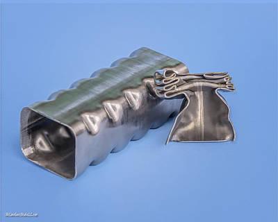 Washington Photograph - Flashbainite - Maximum Strength Steel - Crush Can V2 by LeeAnn McLaneGoetz McLaneGoetzStudioLLCcom