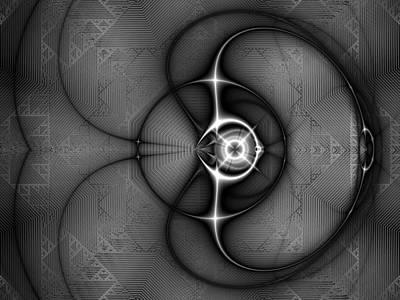 Digital Art - Flasher by Kiki Art