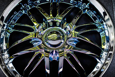 Photograph - Flashy Wheels by Ronda Broatch