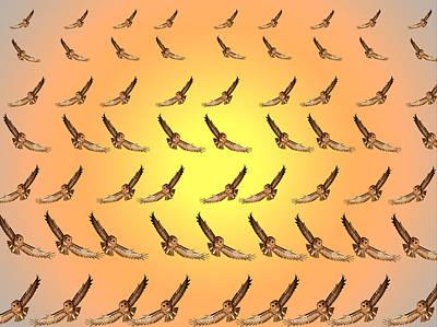 Flat Air.this Is A Stereogram.  Original by Tautvydas Davainis