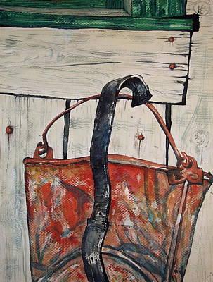 Flat Bucket Art Print