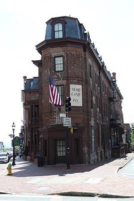 Flat Iron Annapolis - Maryland Inn Art Print