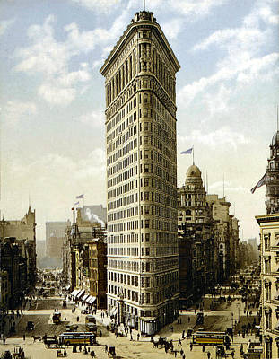 Flat Iron Building New York 1903 Art Print by Unknown