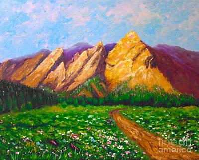 Flat Iron Colorado Original by Francesca Kee