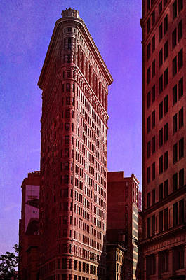 Citiscapes Photograph - Flat Iron  by Laura Fasulo