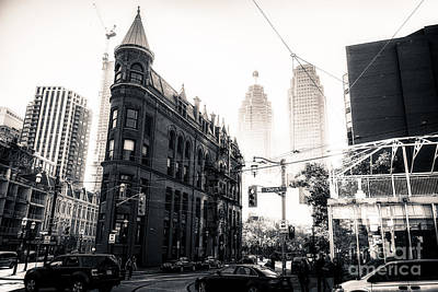 Photograph - Flat Iron Toronto by Matt  Trimble