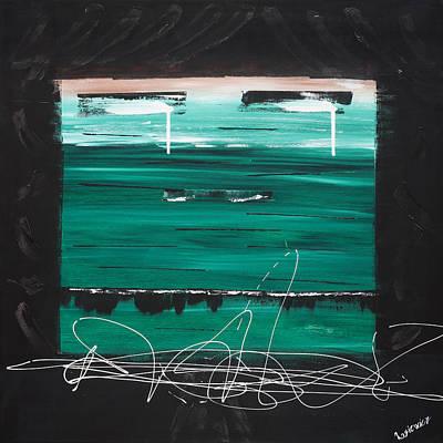On Cavas Painting - Flat by Jan Rasiewicz