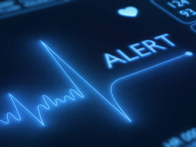 Alarm Photograph - Heart Failure / Health by Johan Swanepoel
