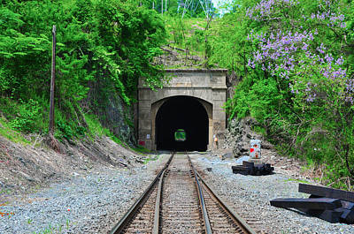Flat Rock Tunnel - Belmont Hills Art Print by Bill Cannon