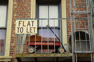 Photograph - Flat To Let by Laurie Perry