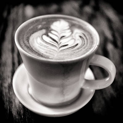 Cooking Photograph - Flat White by Tanya Harrison