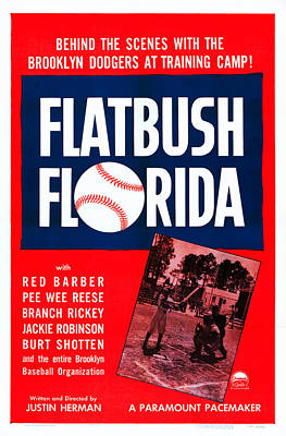 1950 Movies Photograph - Flatbush Florida, Us Poster Art, 1950 by Everett