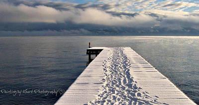 Photograph - Flathead Lake by Deahn      Benware