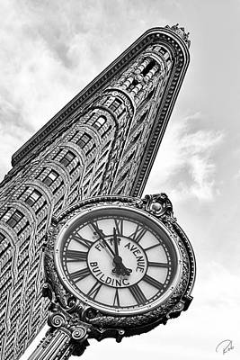 Nyc Photograph - Flatiron And 5th by Rob Beverly