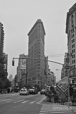 Photograph - Flatiron Black And White by David Bearden