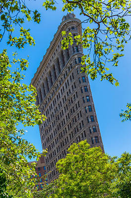 Art Print featuring the photograph Flatiron Building by Chris McKenna
