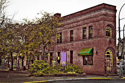 Photograph - Flatiron Building In Pullman Washington by David Patterson