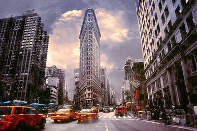 Flatiron Building Art Print by John Rivera
