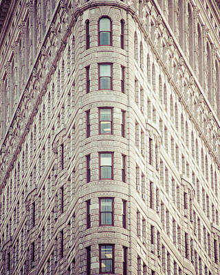 Art Print featuring the photograph Flatiron Building by Takeshi Okada
