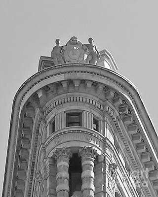 Photograph - Flatiron Detail by John Wartman