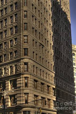 Photograph - Flatiron In Morning Shadow by David Bearden