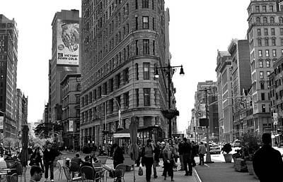 Photograph - Flatiron Building by Steve Archbold