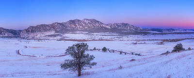 Royalty-Free and Rights-Managed Images - Flatiron Sunrise by Darren White