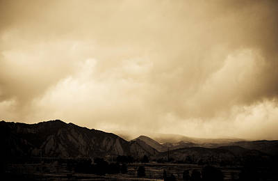Photograph - Flatirons Sky by Marilyn Hunt