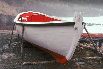 Photograph - Flatrock Skiff by Douglas Pike